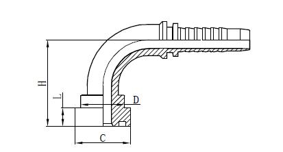 4SH šļūtenes montāža Zīmējums