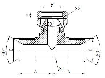 BSP hidrauliskais zīmējums