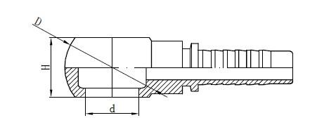 Metriskā Banjo šļūtenes montāžas rasējums